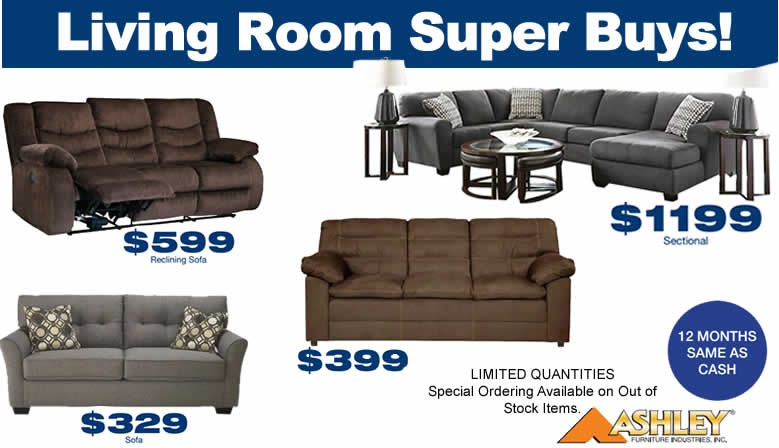 Living Room Hot Buys!