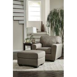 Calicho - Cashmere - Chair with Ottoman