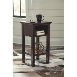 Marnville - Reddish Brown - Accent Table