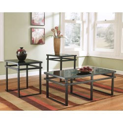 Laney - Black - Occasional Table Set (3/CN)