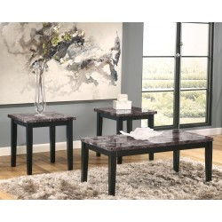 Maysville - Black - Occasional Table Set (3/CN)