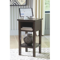 Marnville - Dark Brown - Accent Table