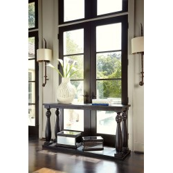 Mallacar - Black - Sofa Table