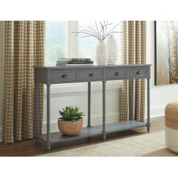 Eirdale - Gray - Console Sofa Table