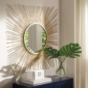 Elspeth - Gold Finish - Accent Mirror