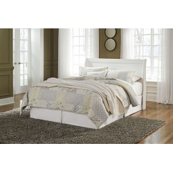 Anarasia - White - Queen Sleigh Headboard