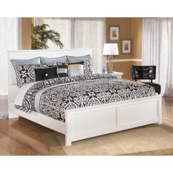 Bostwick Shoals - White - King Panel Bed