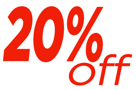 Additional 20% off!